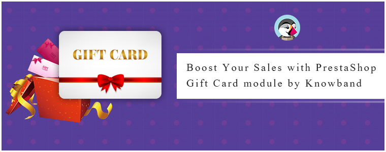 PrestaShop Gift Card module by Knowband
