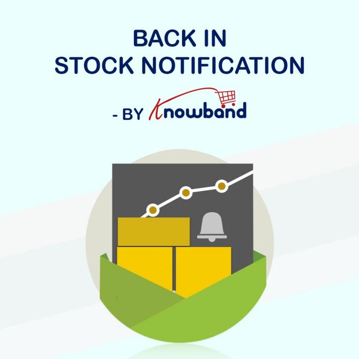 PrestaShop Back in Stock Notification addon